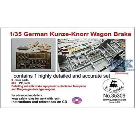 German Kunze-Knorr Wagon Brake /Bremse