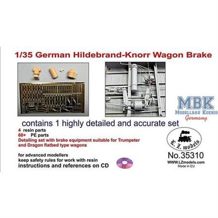German Hildebrand-Knorr Wagon Brake