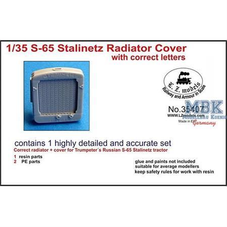Stalinetz S65 radiator correct letters
