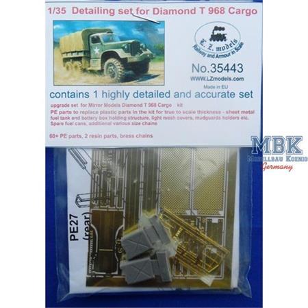 Detailing Set for Diamond T968 Cargo Truck