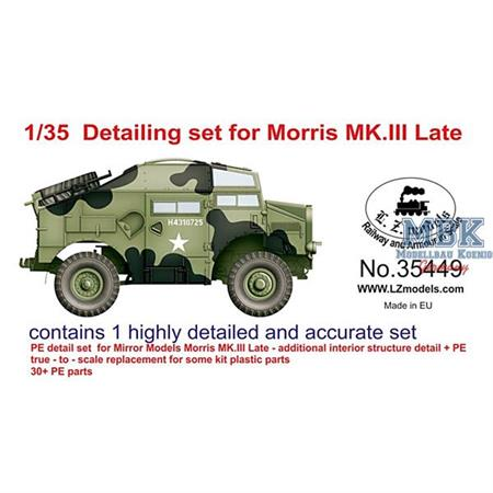 Detailing set for Morris Mk III late