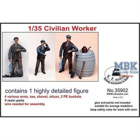 Civilian Worker/ Arbeiter