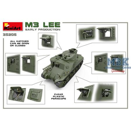 M3 Lee early production (Interior Kit)