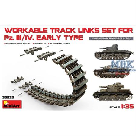Workable Track Links for Pz.III / Pz.IV early