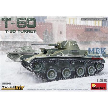 T-60 (T-30 Turret) (Interior Kit)