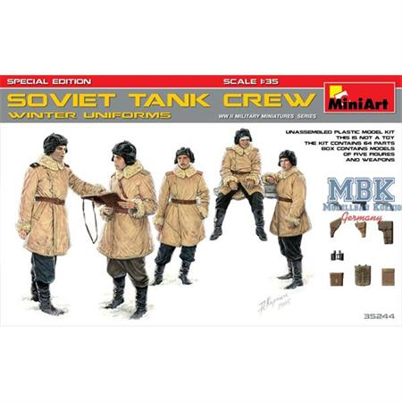 Soviet Tank Crew (Winteruniform) Special Edition