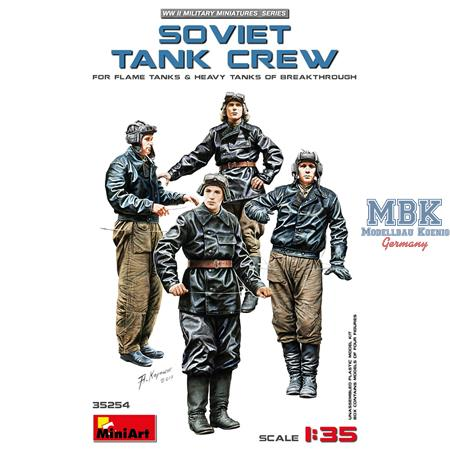 Soviet Tank Crew (For flame & breakthrough tanks)