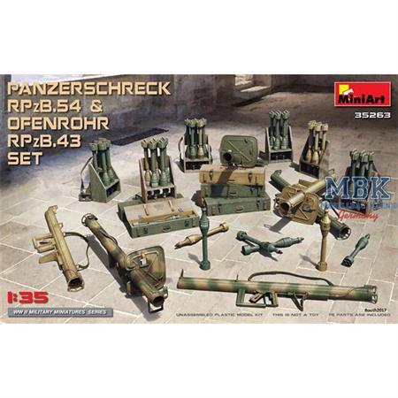 Panzerschreck RPzB.54 & Ofenrohr RPzB.43 Set