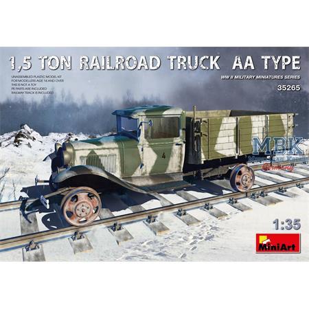1,5t Railroad Truck AA Type