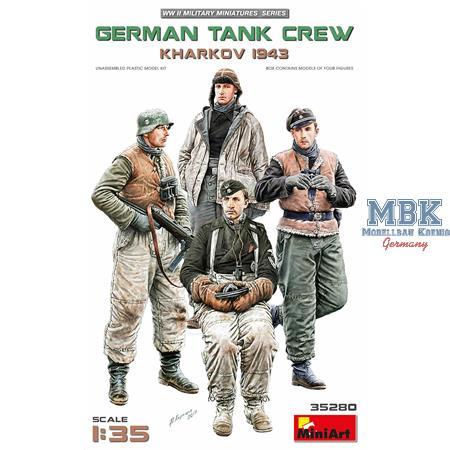 Deutsche Panzerbesatzung Charkow 1943