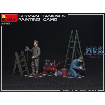 GERMAN TANKMEN CAMO PAINTING