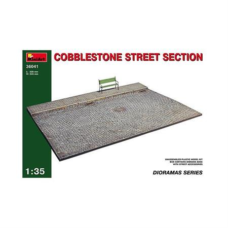 Cobblestone Street Section