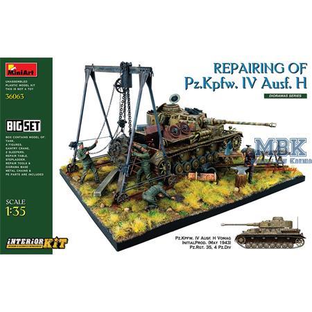 Repairing of Pz.Kpfw. IV Ausf. H. Big Set