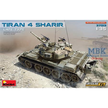 Tiran 4 Sharir Late Type. Interior Kit