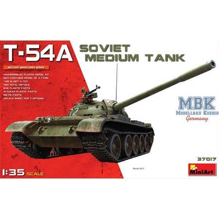 T-54A  Soviet Medium Tank