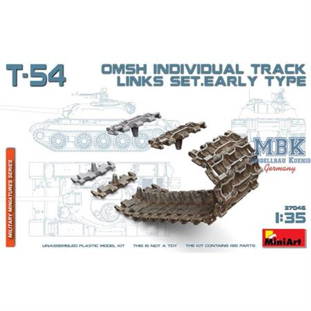 T-54 OMSH individual track links set.early type