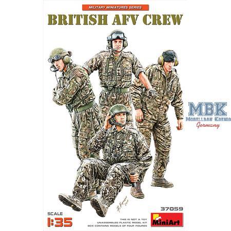 BRITISH AFV CREW
