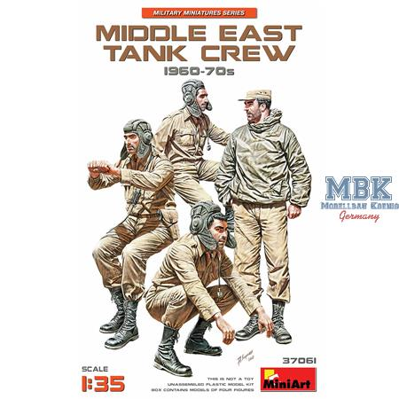 Middle East Tank Crew 1960-1970s