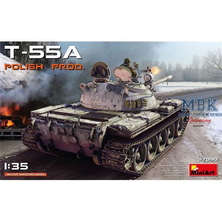 T-55A Polish Production