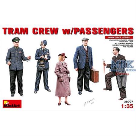 Tram Crew w/Passengers