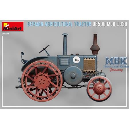 GERMAN AGRICULTURAL TRACTOR D8500 MOD. 1938