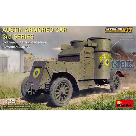 Austin Armored Car 3rd Series *Interior Kit*