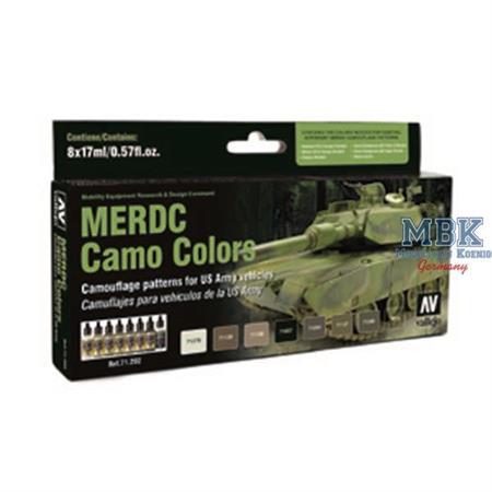 MERDC Camo Colors