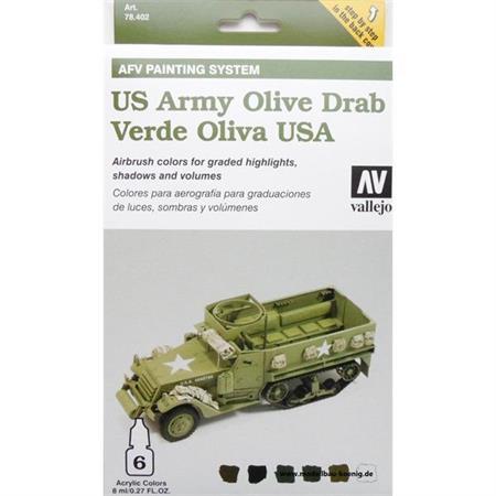 Model Air Set - US Army Olive Drab Set