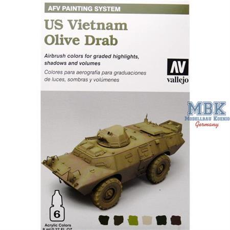 AFV Model Air Set US Vietnam Olive Drab
