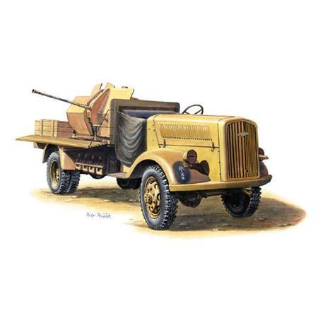 """Opel Blitz 3t + 20mm FlaK 38 \""""Afrika Corps\"""""""