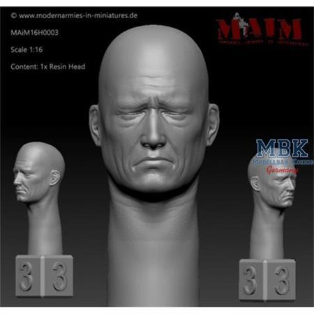 Bald Head - Sad Face Impression #0003