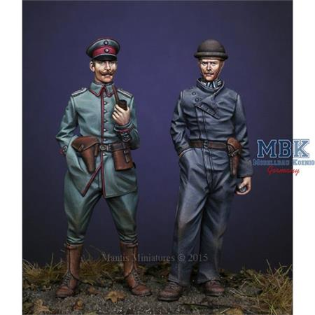 WW1 German Officer & Tanker