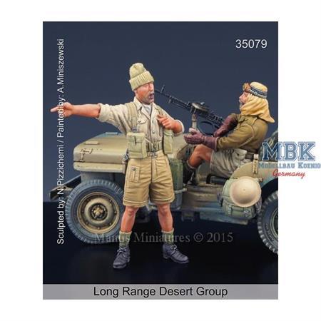 Long Range Desert Group Team