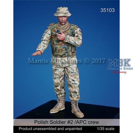 Polish Soldier #2 /APC crew