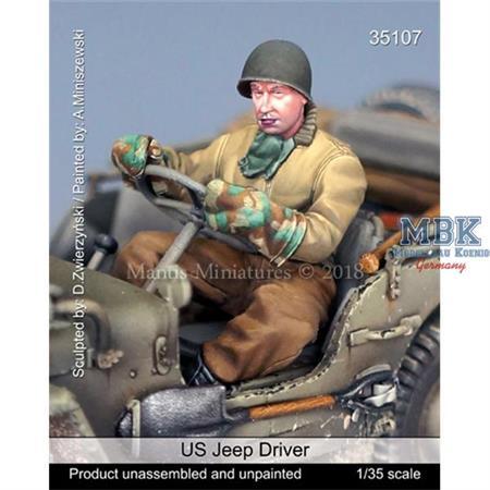 US Jeep Driver, WW2