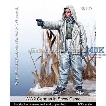 WW2 German in Snow Camo
