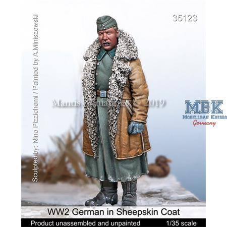 WW2 German in Sheepskin Coat