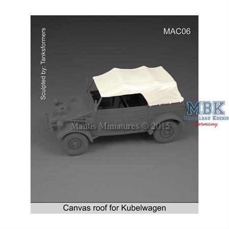 Canvas roof for Kübelwagen