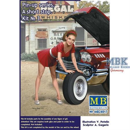 Pin-up Series - A short Stop Kit No. 3