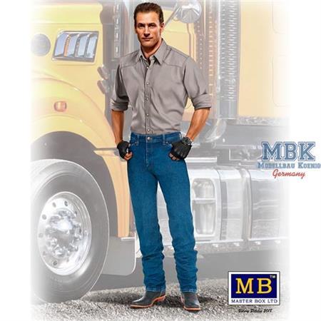 Trucker Series. Stan (Long Haul) Thompson  1/24
