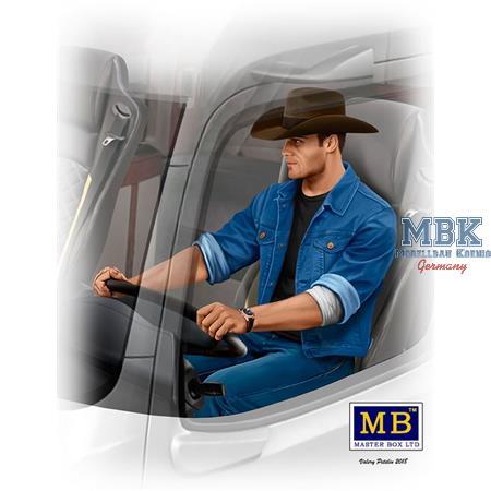 Trucker Series. Mike (Beach Boy) Barrington 1/24