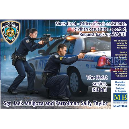 The Heist Series: Shots fired Officer needs