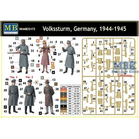 Volkssturm, Germany, 1944-1945