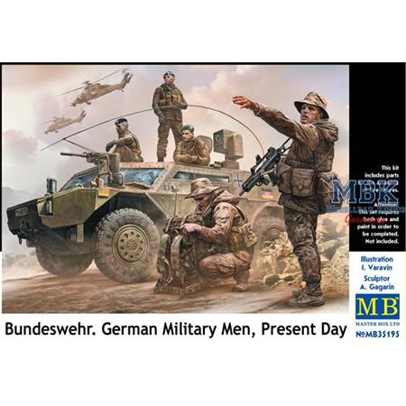 Bundeswehr German Military Men - Present Day 1/35