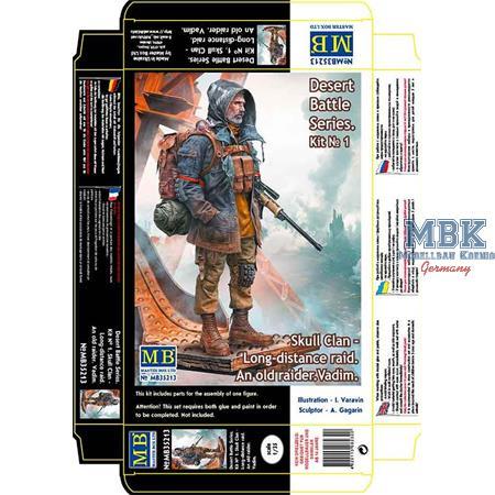"Skull Clan Long distance Raid Kit ""An Old Raider"""