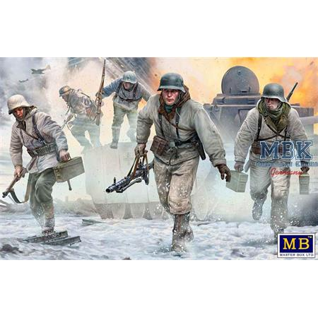 German Machine Gun Team Autumn / Winter 1944