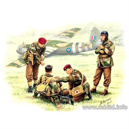 British paratroopers, 1944. Kit 2
