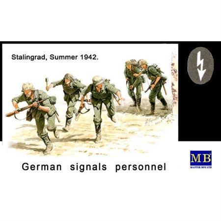 German Signals Personnel, Stalingrad, Summer 1942