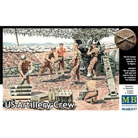 US Artillery Crew, WW2