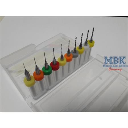 MBK Micro Bohrer 0,3- 1,2mm